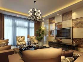 家装电视背景墙设计效果