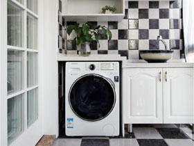 家庭新利18全站中洗衣机放哪里好?洗衣机摆放的位置